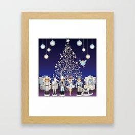 Christmas time - Nutckracker Story on Christmas eve Framed Art Print