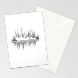 Tree Falls Stationery Cards