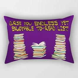 Endless to-read List Rectangular Pillow