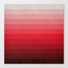 Red Grunge Canvas Print