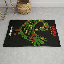 SANKOFA - Learn from the Past! Rug