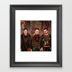 Two Door Cinema Club Framed Art Print