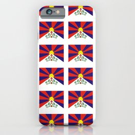 flag of thibet,བོད,tibetan,asia,china,Autonomous Region,everest,himalaya,buddhism,dalai lama iPhone Case