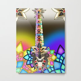 Fusion Keyblade Guitar #10 - Unicornis' Keyblade & Combined Keyblade Metal Print