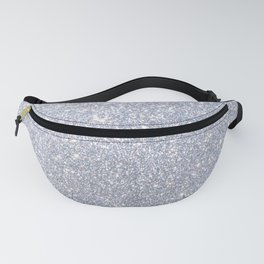 Silver Metallic Sparkly Glitter Fanny Pack
