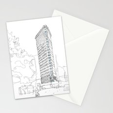 Flat Iron Building Stationery Cards