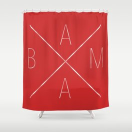 Across Alabama Shower Curtain