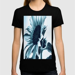 Pastel Blue Sunflower T-shirt