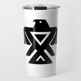 Anishinaabe Ojibwe Thunderbird flag Travel Mug