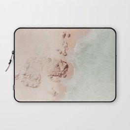 beach - pink champagne Laptop Sleeve