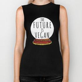 The Future Is Vegan Biker Tank