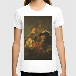 """Rembrandt Harmenszoon van Rijn, """"The Prodigal Son in the Brothel"""", 1637 T-shirt"""