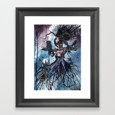Death From Above Framed Art Print