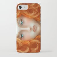 rebel iPhone & iPod Cases featuring Rebel by Alexia Rose