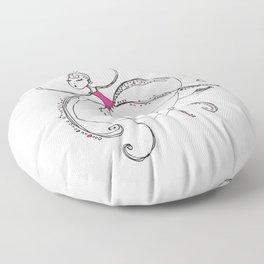 The Pink Octopus Floor Pillow