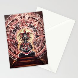 Mayan Cacao God Stationery Cards