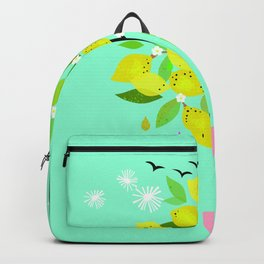 Happiness is a lemon tree Backpack