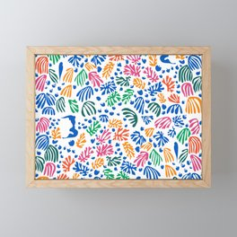 Matisse Colorful Pattern #1 Framed Mini Art Print