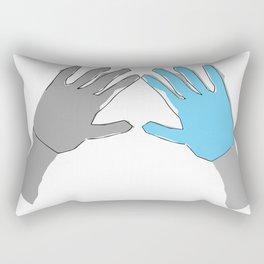 Perfection is Boring Rectangular Pillow