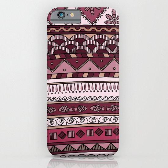 Yzor pattern 004 lilac iPhone & iPod Case