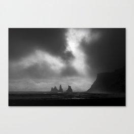 Reynisfjara Black Canvas Print
