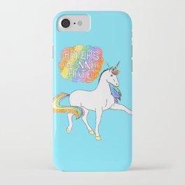 Light blue Unicorn iPhone Case