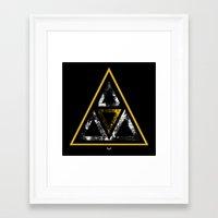 illuminati Framed Art Prints featuring Illuminati by Haych