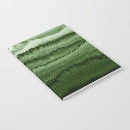 WITHIN THE TIDES FOREST GREEN by Monika Strigel Notebook