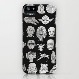 The force is strong iPhone Case