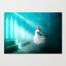 Cathedrals of the Mind Canvas Print