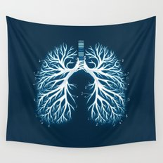 I Breathe Music Wall Tapestry