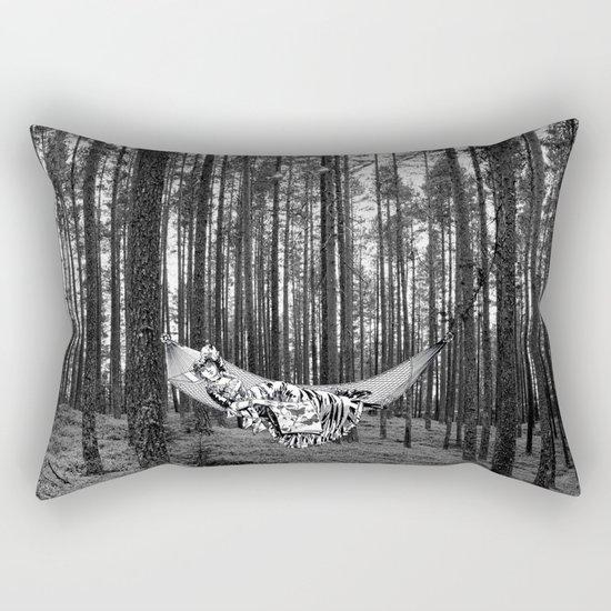 BETWEEN TREES Rectangular Pillow