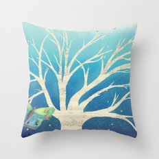In the Evening Throw Pillow