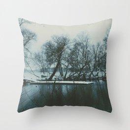 Lake Mälaren, Stockholm, Sweden Throw Pillow