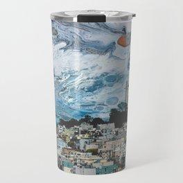 Starry Coit Tower Travel Mug
