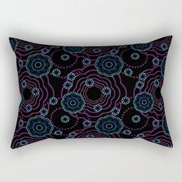 art of batik two Rectangular Pillow