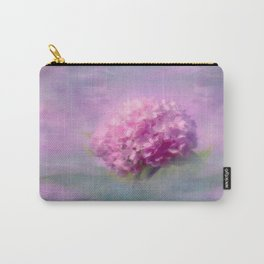Purple Hydrangea Blossom Floral Nature Photo Carry-All Pouch