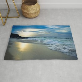 One Dream Sunset Hookipa Beach Maui Hawaii Rug