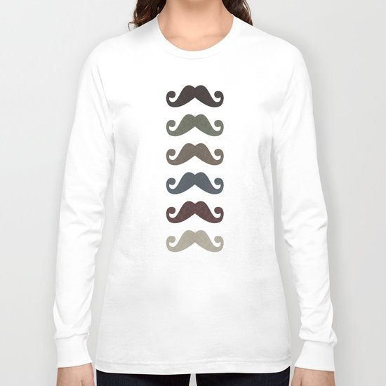 Stache Attack Long Sleeve T-shirt
