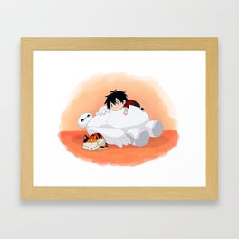 The Genius, Bot & Hairy Baby Framed Art Print