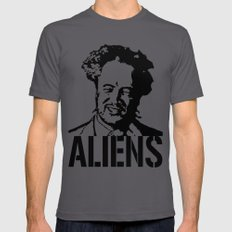 Giorgio A. Tsoukalos (The Alien Guy) X-LARGE Mens Fitted Tee Asphalt
