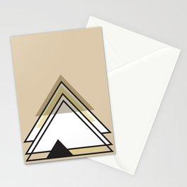 Minimalist Triangle Series 009 Stationery Cards