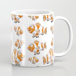 Happy Orange Fish Coffee Mug