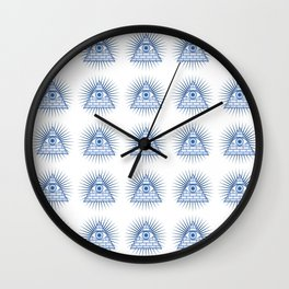 Illuminati All-Seeing Eye Wall Clock