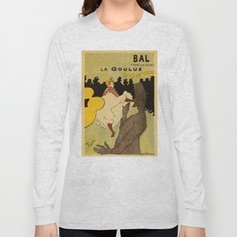 Paris nightlife 1891 Toulouse Lautrec Long Sleeve T-shirt