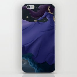 Space Lady iPhone Skin