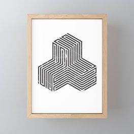 Tricube Framed Mini Art Print