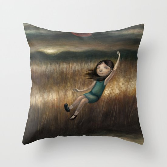 Anywhere But Here Throw Pillow