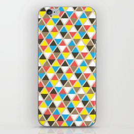 Tribal Triangles iPhone Skin