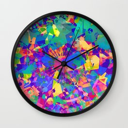 Fractal Cauldron Wall Clock
